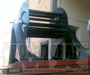 Portarrollos de lamina de acero